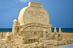Hampton Beach Sand Sculpture Contest