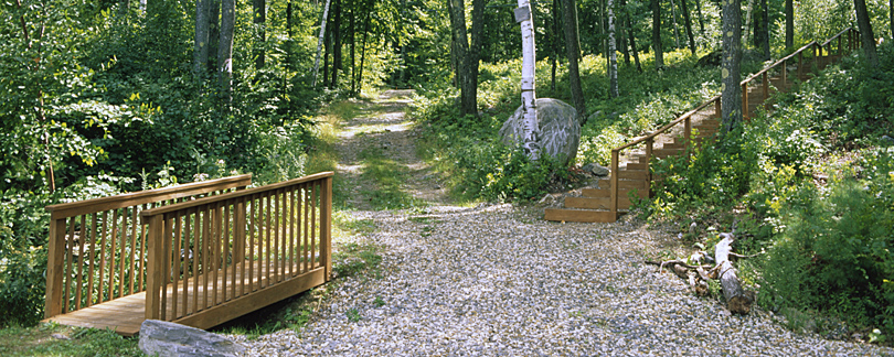 Hiking Trails at Onway Lake Family Resort